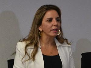 Secretária estadual de Segurança Pública, Kalina Leite (Foto: Divulgação/Sesed-RN)