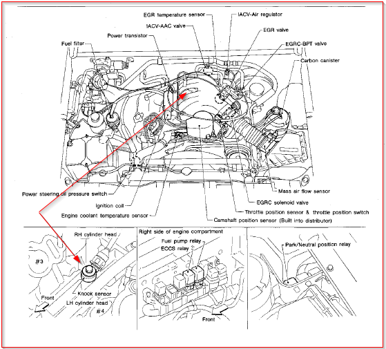 Ignition diagram nissan 2400