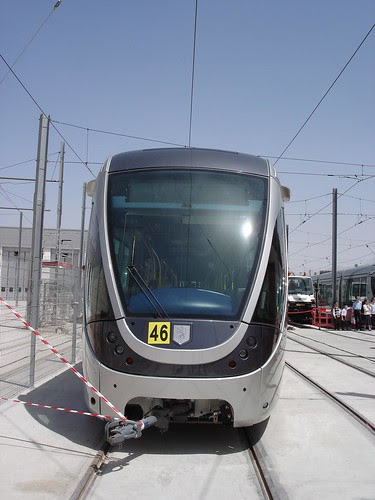 Jerusalem light rail rolling stock