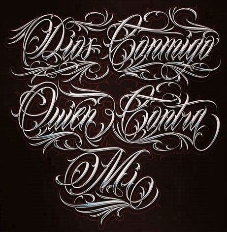 chicano lettering chicano lettering tattoo lettering