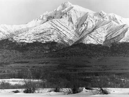 North wall, Mt. Shari by threepinner