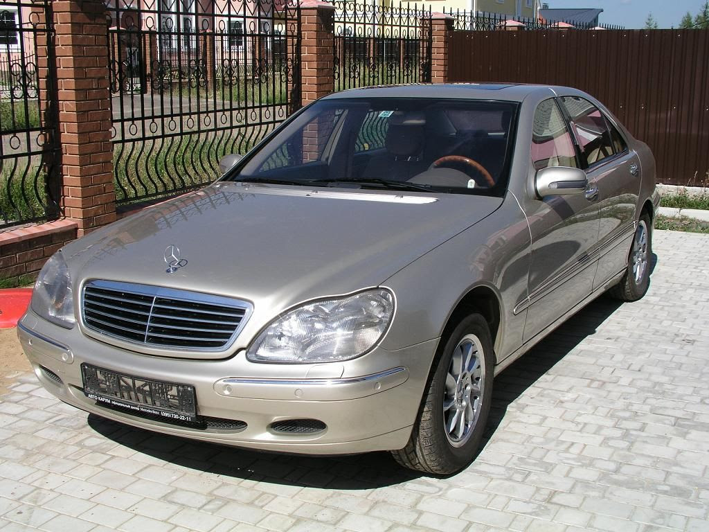 1999 Mercedes Benz S500 Pictures, 5000cc., Gasoline, FR or ...