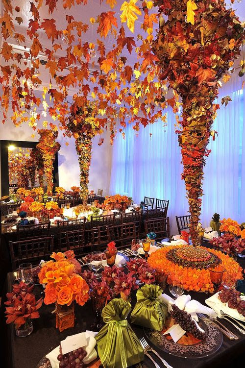 LotusHaus: Preston Bailey's Thanksgiving Decor