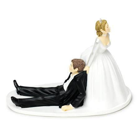 12 Funniest Wedding Cake Toppers (cake topper, wedding