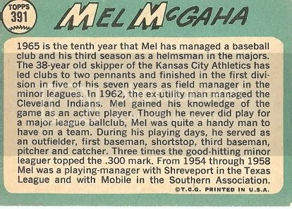 #391 Mel McGaha (back)