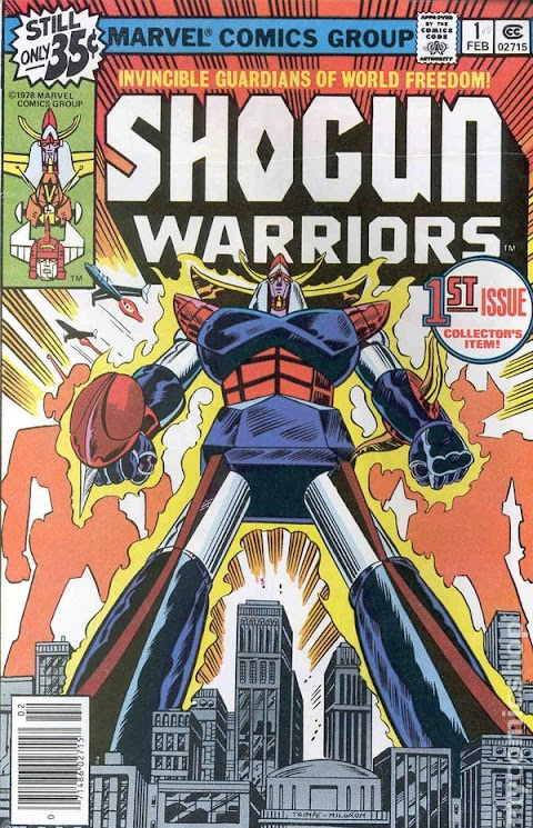 Shogun Warriors Comic Book Value