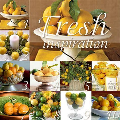 17 Best ideas about Lemon Kitchen Decor on Pinterest