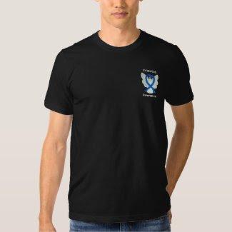 Education Awareness Ribbon Angel Custom Shirts
