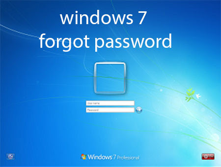 Forgot Windows 7 Password