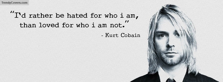 Kurt Cobain Quote Facebook Cover Trendycoverscom
