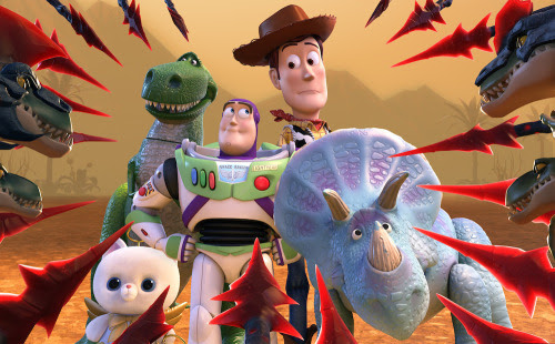 screen cap from Toy Story That Time Forgot. Click to see a special poster.