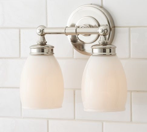Milk Glass Lamp Pottery Barn Products on Houzz