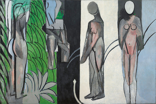 Bathers by a River, 1909-10, 1913, 1916-17, Henri Matisse.