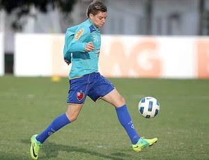Adryan treinando - Flamengo (Foto: Jorge William/Globo)