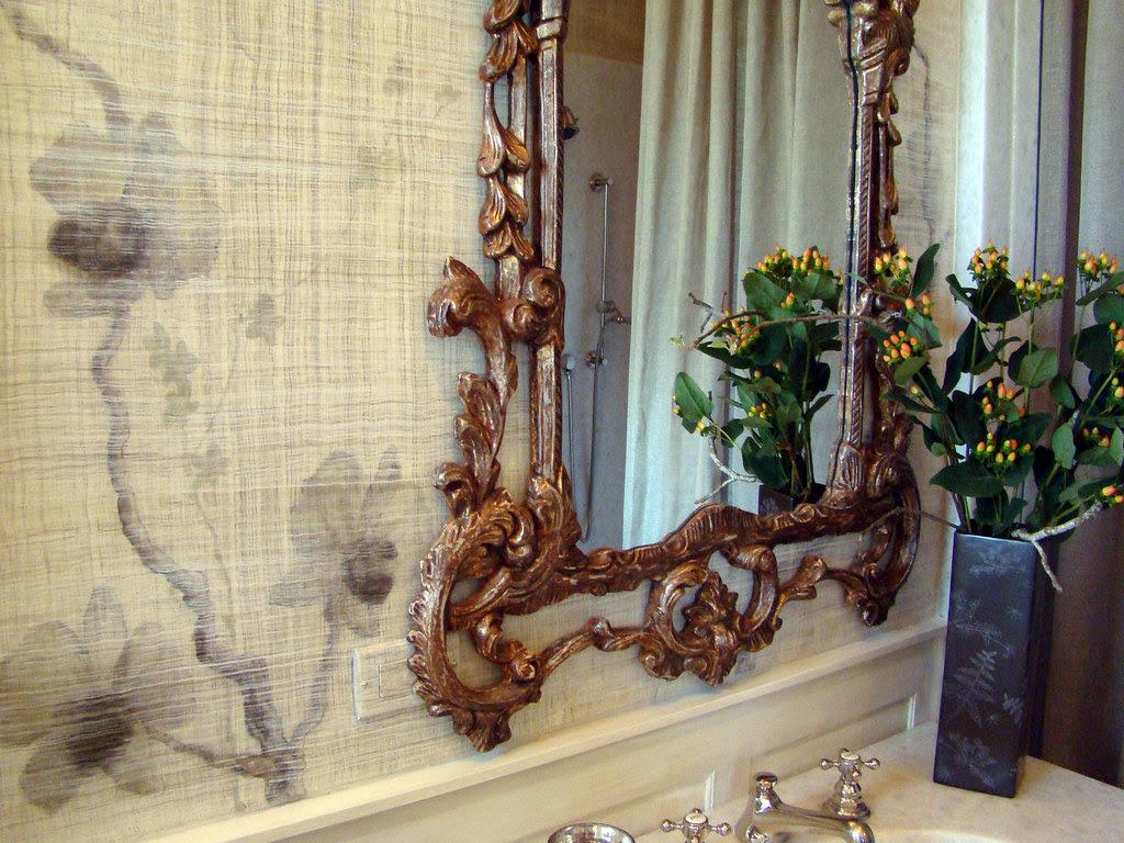 DSC05759 SF Decorator Showcase guest bath wallpaper
