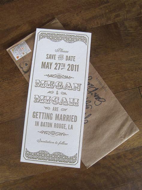 Art Deco Wedding Invitations Inspiration   Wedding and