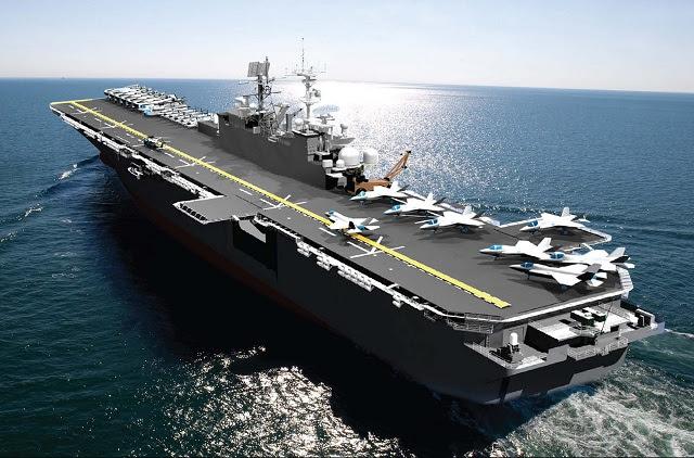 La colocación de la quilla y la ceremonia de autenticación para el buque de asalto anfibio, el futuro USS Trípoli (LHA 7) se celebrará en el astillero de Huntington Ingalls Industrias Pascagoula 20 de junio. Nave Patrocinador Sra. Lynne Mabus y jubilado teniente Cmdte. Steve Senk, el ingeniero jefe de la Trípoli anterior (ex-USS Trípoli, 10 LPH) se desempeñó como los autenticadores quilla. La colocación de la quilla que tradicionalmente marca el primer paso en la construcción de buques.