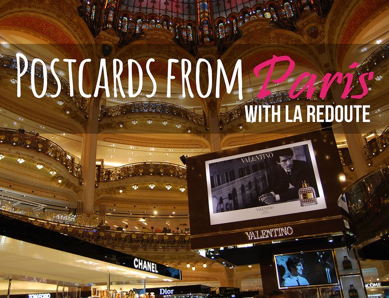 A postcard from paris with la redoute la troisi me partie not dressed as - Adresse magasin la redoute paris ...