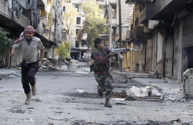 Φωτογραφίες που συγκλονίζουν - Τα παιδιά του πολέμου στη Συρία