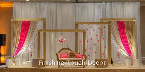 Finishing Touch Decor   Indian Wedding Decorations   Www