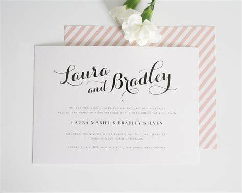 Romantic Blush Wedding Invitations ? Wedding Invitations