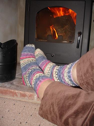 September Blowing Bubbles socks 005