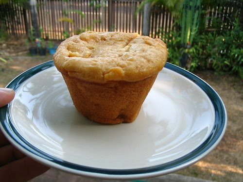 Mango & Macadamia Muffin
