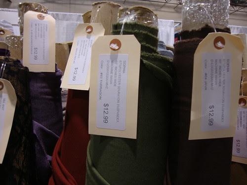 Vogue Fabrics sophia double knit colors...