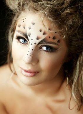 Leopard Makeup Instructions