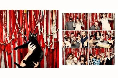Smilebooth Photo Booth Backdrop Inspiration Streamers C