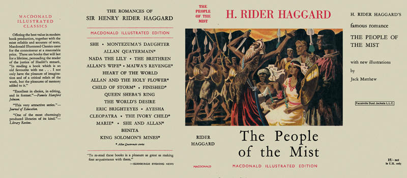 People of the Mist, The. H. Rider Haggard.