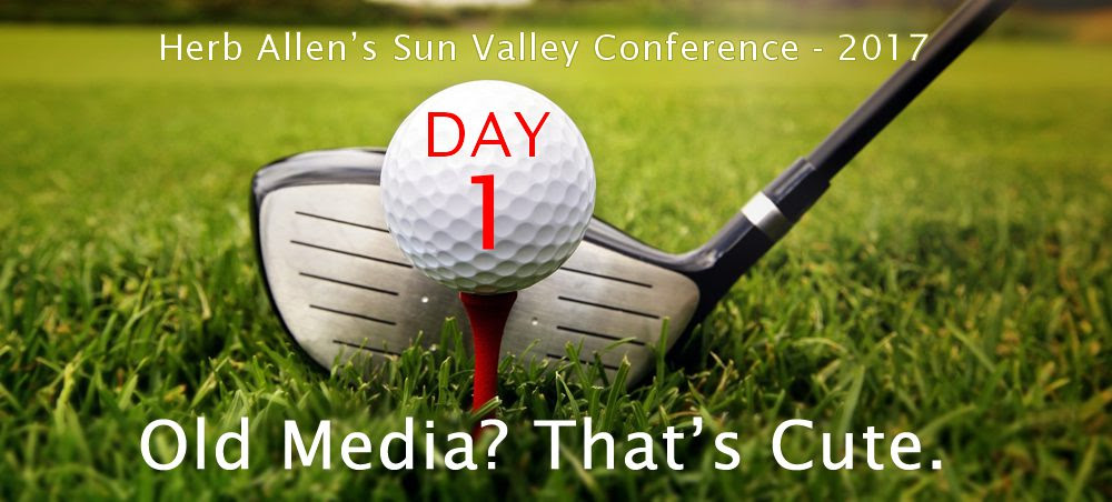 Herb Allen s Sun Valley Conference – 2017 – Day 1 – Old Media