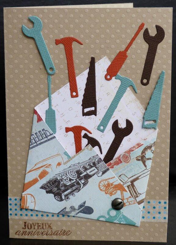 foto de Carte Anniversaire Homme Bricoleur Carte fiolazoezoey blog