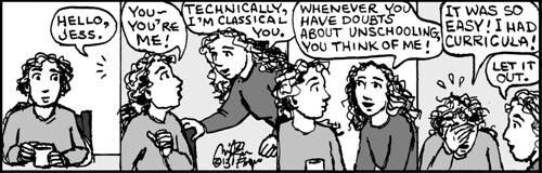 Home Spun comic strip #789