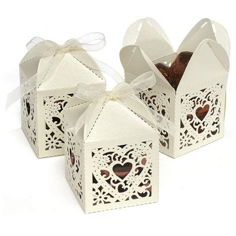 Decorative Wedding Favor Box ? Candy Cake Weddings