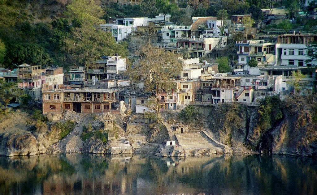 Reflection on the Ganges