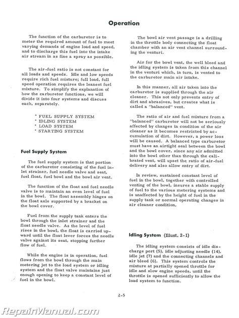 International Harvester Gas Engine Service Manual