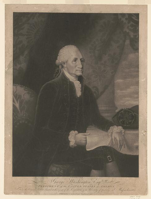 George Washington Esq., President of the United States of America