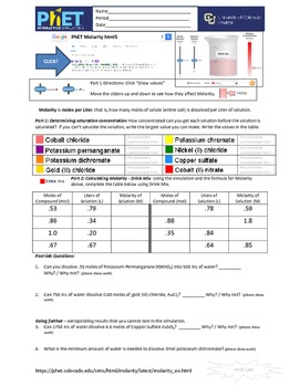 30 Molecule Polarity Phet Lab Worksheet Answers ...