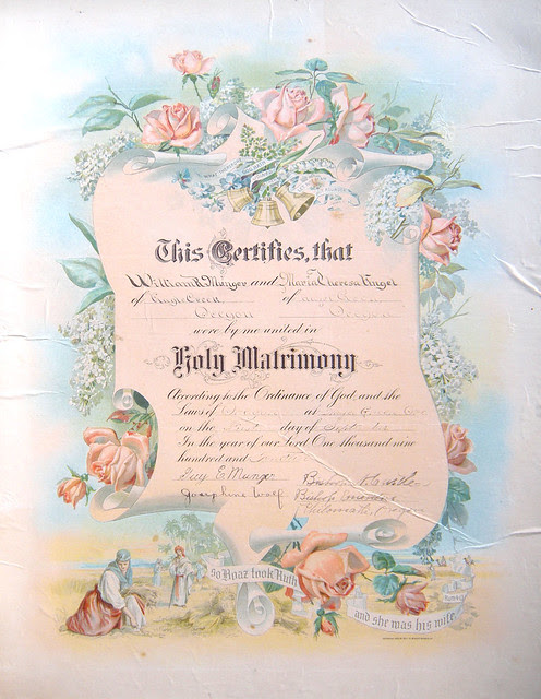 marriage certificate_tatteredandlost