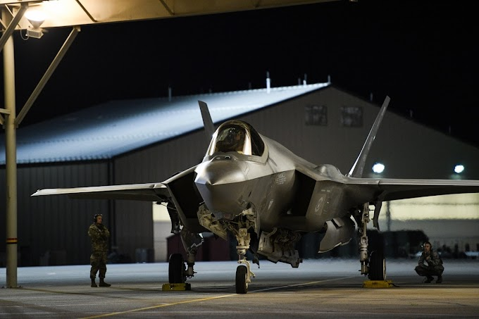 Com mais um problema, o F-35 Lightning II está proibido de voar perto de raios