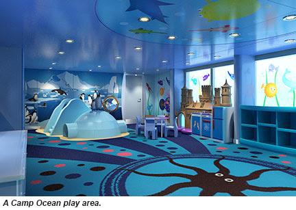 Camp Ocean play area