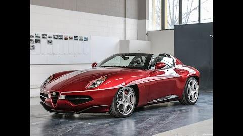 Alfa Romeo 8c Disco Volante Price