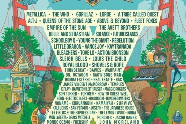 Outside Lands Goes Big for Tenth Anniversary: The Who, Metallica, Gorillaz, Lorde, Alt-J, Fleet Foxes