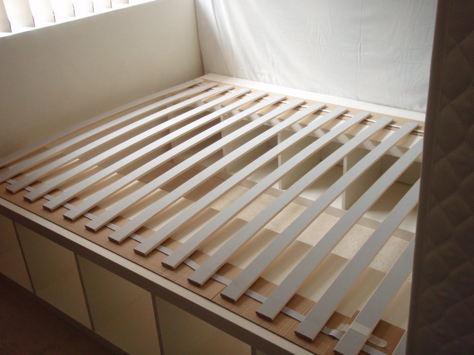 Diy Bathroom Shelf Ideas, Ikea Bed Slats