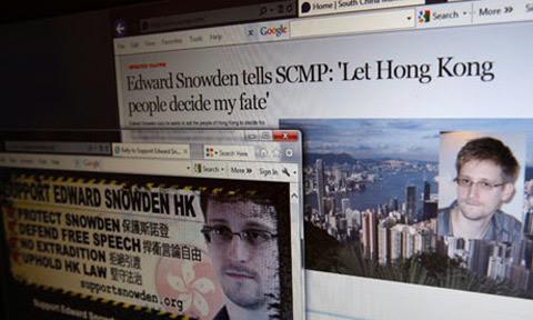 Edward Snowden, gián điệp hai mang, Trung Quốc, Mỹ
