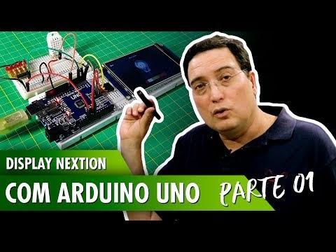 Display Nextion com Arduino Uno