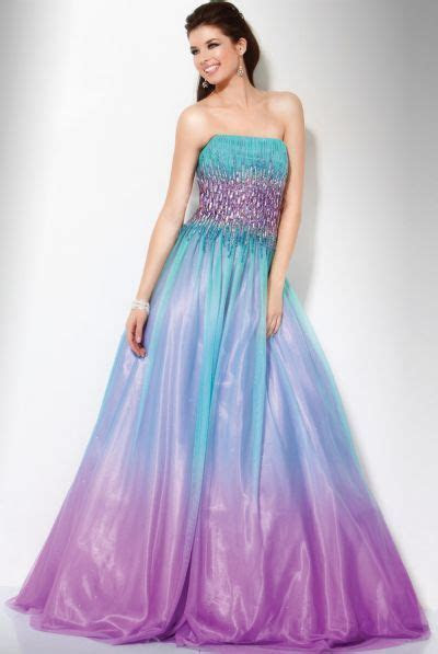 Aqua and Purple Bridesmaid Dresses Ideas ? Designers
