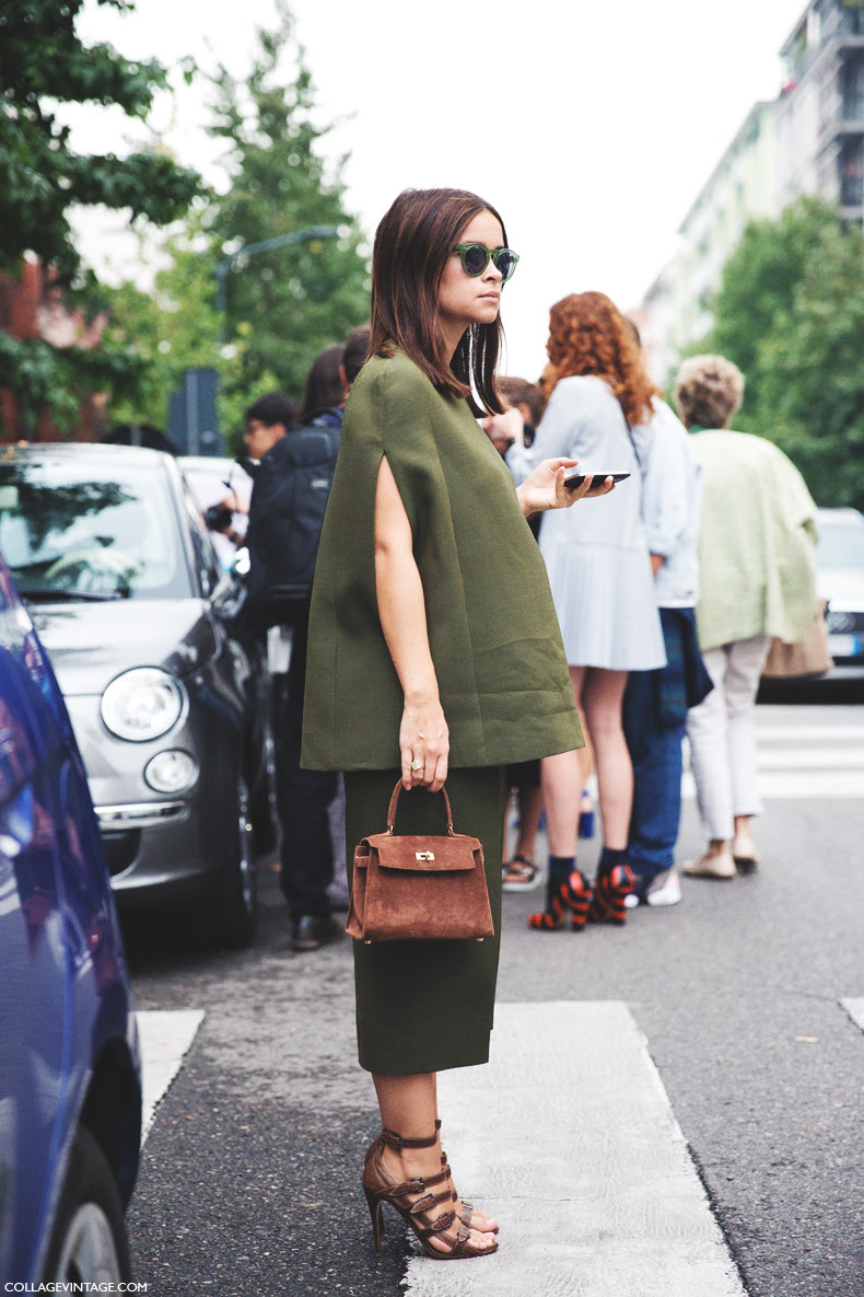 Milan_Fashion_Week_Spring_Summer_15-MFW-Street_Style-Miroslava_Duma-Hermes-Khaki-2