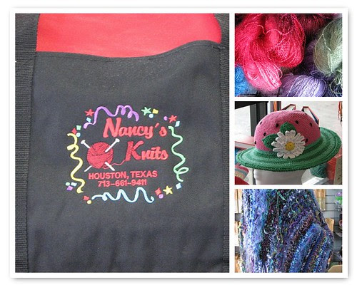 Mosaic of Nancy's Knits